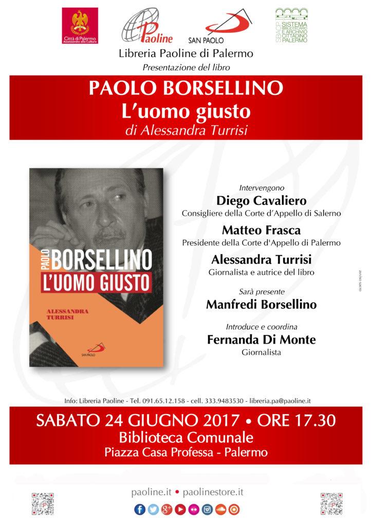 Locandina paoline-paolo-borsellino-palermo-24giu17-loc