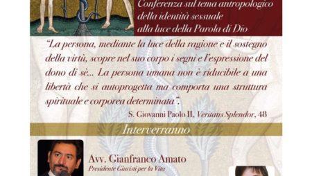 """17/11/07: """"Maschio e Femmina Dio li creò"""" – conferenza sull'identità sessuale"""