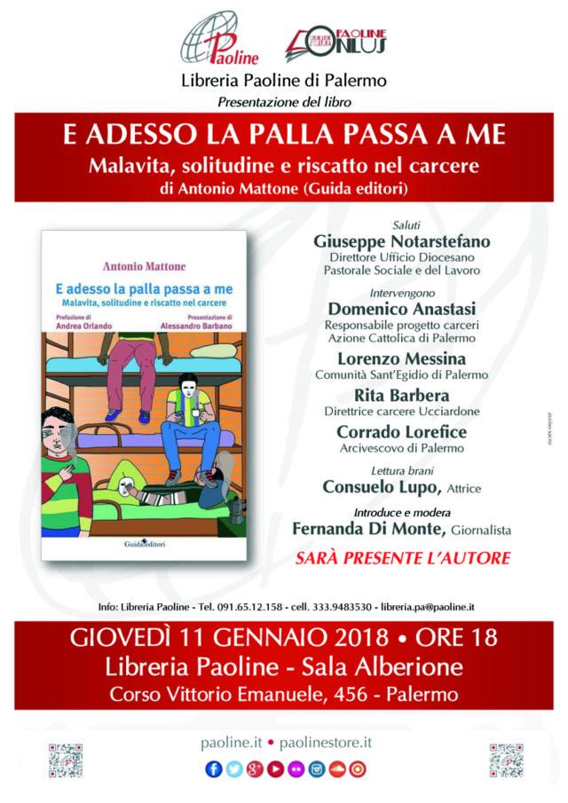 locandina paoline SALA ALBERIONE evento 11 gennaio 2018