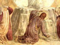 Trasfigurazione (particolare), Beato Angelico, 1438-1440, affresco 189×159 cm, Museo nazionale di San Marco, Firenze