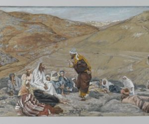 James Tissot - The Scribe Stood to Tempt Jesus, Wikimedia Commons