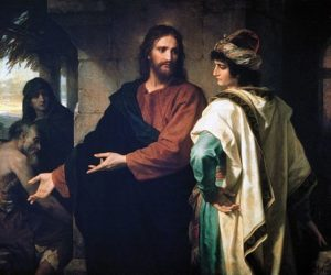 H. Hoffmann, Christ and the rich young ruler