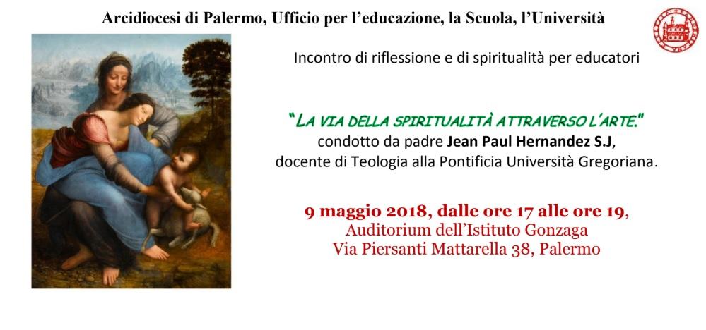Incontro spiritualità 9 maggio 2018