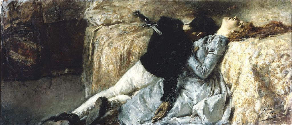 G. Previati, Paolo e Francesca, 1887