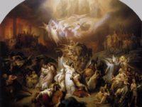 W. von Kaulbach - La distruzione di Gerusalemme da parte di Tito
