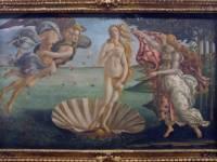 Sandro Botticelli, La nascita di Venere, 1484/1485 circa. Tempera su tela, 172,5x278,5 cm. Firenze, Galleria degli Uffizi.