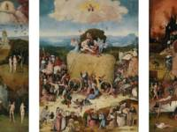 Trittico del carro da fieno, olio su tavola, 1510-12, Museo del Prado, Madrid.