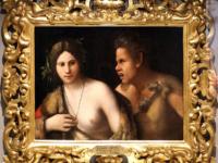 (Ninfa inseguita da un satiro, 1516ca.)