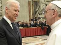 LaPresse19-03-2013CronacaPapa Francesco saluta i potentiNella foto: Joe Biden